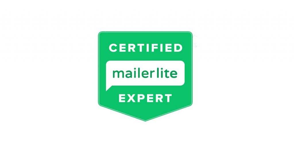 Certified MailerLite Expert